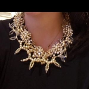 Pearl Diamond necklace by Miriam Haskell